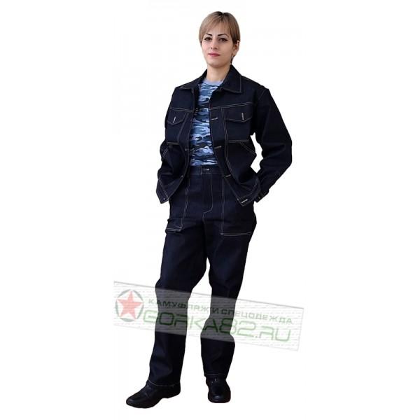 Рабочий костюм джинсовый