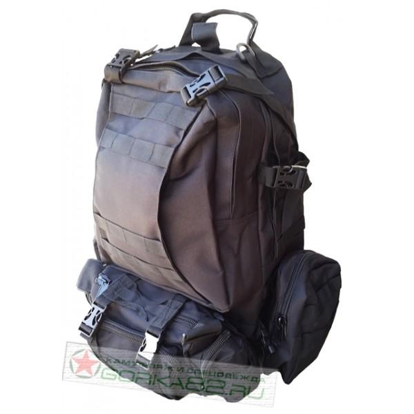 Рейдовый рюкзак 40 л (ЧЕРНЫЙ)